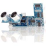 Aukru 3x modulo ultrasuoni HC-SR04 Sensore di prossimità (distanza) per Raspberry Pi Arduino