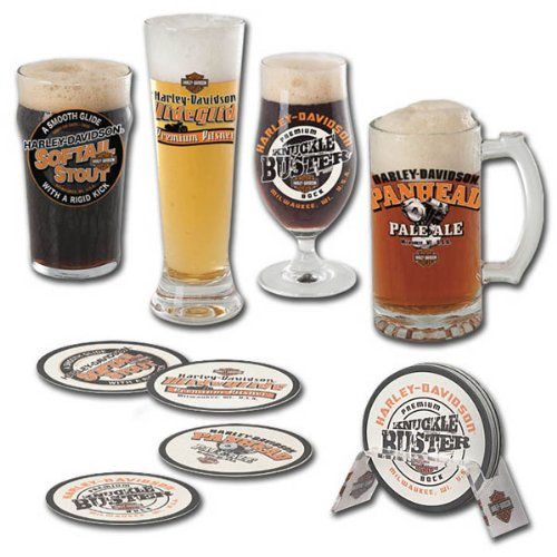 Harley-Davidson® Craft Beer Glass Gift Set. HDL-18715
