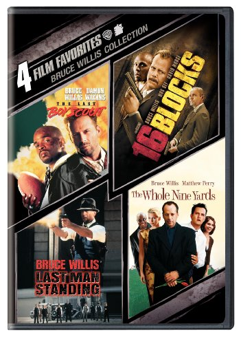 Cover art for  Four Film Favorites: Bruce Willis Collection (The Last Boy Scout / 16 Blocks / Last Man Standing / The Whole Nine Yards )
