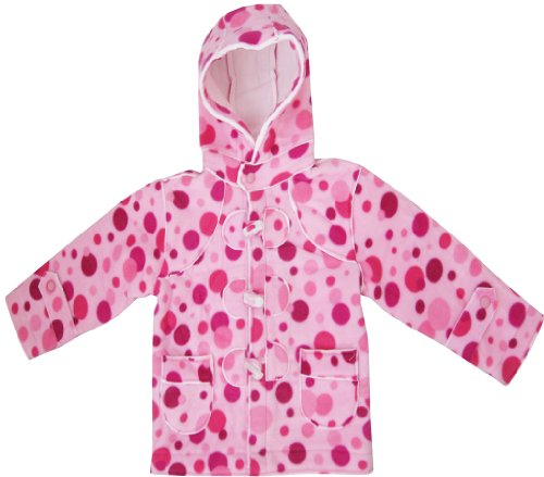 Girls Coat Pink Hoodie Winter Outerwear Kids School Clothes Size 2-7
