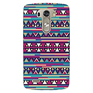 Jugaaduu Aztec Girly Tribal Back Cover Case For Lg G3 D855
