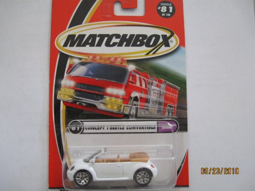 Matchbox Concept 1 Beetle Convertible Worldwide Series - 1