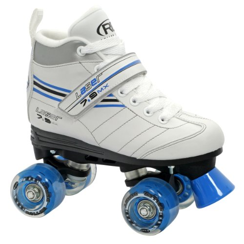 Roller Derby Girl's Laser Speed Quad Skate, Size 08
