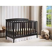 Delta Children Gateway 4-in-1 Convertible Crib (Black)