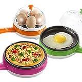 VelVeeta 2 In 1 New Electric Omelette Pan / Frying Pan / Egg Boiler