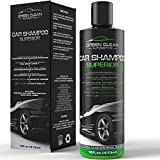 Green Clean Automotive - Car Shampoo Superior - Best Ecological Car Care Product - Powerful and Effective High Foaming Soap for All Automotive Finishes - Spot-Free - Removes Dirt and Dust Effectively - Ultimate Shine - Highest Protection - 16 oz
