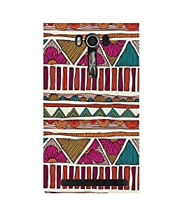 TRADITIONAL INDIAN PATTERN PIC 3D Hard Polycarbonate Designer Back Case Cover for Asus Zenfone Go (5 Inches ):: Asus Zenfone Go ZC500TG