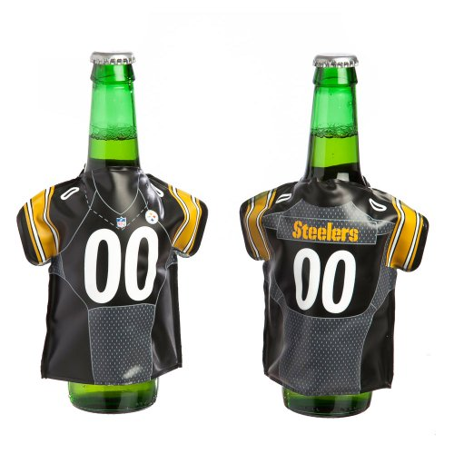 Cheapest Prices! Pittsburgh Steelers Bottle Freezer Jersey
