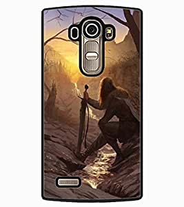 ColourCraft The Warrior Design Back Case Cover for LG G4