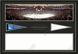New York Rangers Madison Square Garden Stadium & Your Choice Of Stadium Panoramic... by Art and More, Davenport, IA