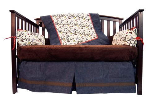 Cowboy Baby Bedding 1787 back