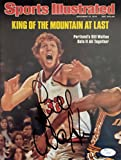 Bill Walton Signed Autographed Sports Illustrated Magazine - JSA Authentic Signed Autograph