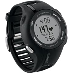 Garmin Forerunner 210 GPS-Enabled Sport Watch with Heart Rate Monitor by Garmin