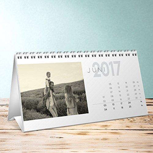 Foto-Kalender-zum-selber-basteln-Allezeit-Tischkalender-Aufstellkalender-260x120-mm-Fotokalender-2017