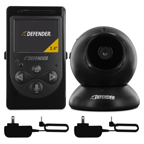 defender 2 4 digital video baby monitor with night vision and intercom 22500 electronics. Black Bedroom Furniture Sets. Home Design Ideas