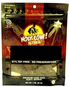 Holy Cow Kosher Beef Jerky Sweet N Spicy Pack Of 6 - 2 Oz from Holy Cow