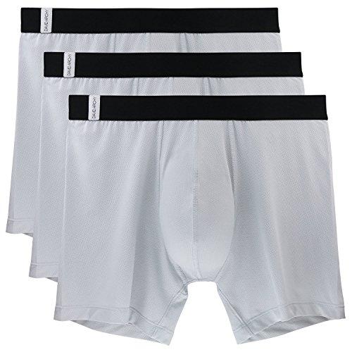 david-archy-3-pack-mens-athletic-sur-dry-tech-mesh-sports-boxer-briefsl-gray