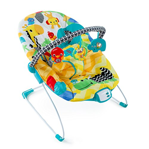 Cheapest Prices! Bright Starts Safari Smiles Bouncer