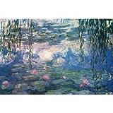 (24x36) Claude Monet (Nympheas) Fine Art Print Poster