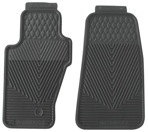 Highland Front Seat Floor Mat All-Weather trespass highland