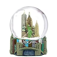 Skyline New York City Snow Globe Souv…