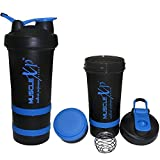 #5: MuscleXP AdvancedStak Protein Shaker for Professionals with Steel Ball