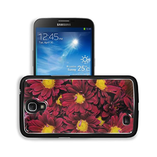 Red Yellow Flowers Bunches Nature Samsung Galaxy Mega 6.3 I9200 Snap Cover Premium Aluminium Design Back Plate Case Customized Made To Order Support Ready 6 5/8 Inch (168Mm) X 3 9/16 Inch (91Mm) X 4/8 Inch (12Mm) Luxlady Galaxy Mega 6.3 Professional Metal