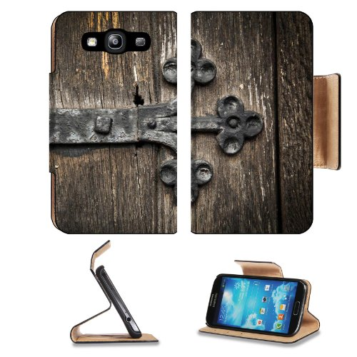 Church Door Wood History Decor Samsung Galaxy S3 I9300 Flip Cover Case With Card Holder Customized Made To Order Support Ready Premium Deluxe Pu Leather 5 Inch (132Mm) X 2 11/16 Inch (68Mm) X 9/16 Inch (14Mm) Msd S Iii S 3 Professional Cases Accessories O