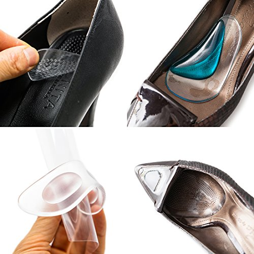 footinsole Arch Support Insoles 4-In-1 Foot Care Kit - Includes 4 Essential Foot Products - Heel Liner (Shoe Inserts For Heal Pain compare prices)