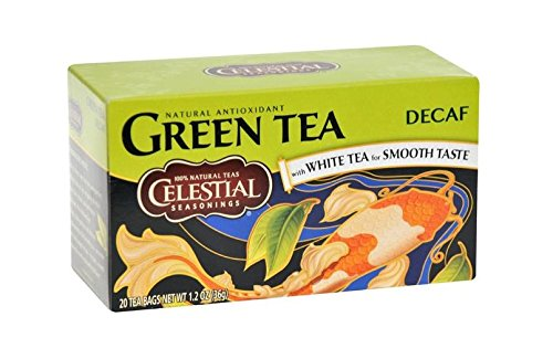 Celestial Seasonings Decaf Green Tea, 20 Count (Pack of 6) (New Mexico Tea Company compare prices)