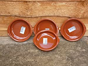 Terracotta Tapas Dish, Set of 4 x 12cm