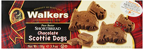 Walkers Shortbread Chocolate Scottie Dogs Shortbread, 3.9 oz. (Chocolate Chips Gourmet compare prices)
