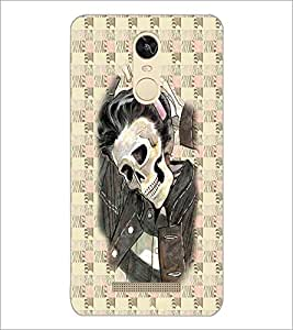 PrintDhaba Funny Image D-3746 Back Case Cover for XIAOMI REDMI NOTE 3 (Multi-Coloured)
