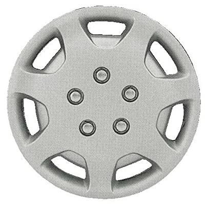 CCI IWCB863-14S 14 Inch Clip On Silver Finish Hubcaps - Pack of 4
