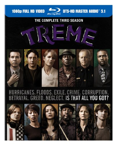 Treme: The Complete Third Season [Blu-ray], David Simon, Mr. Media Interviews