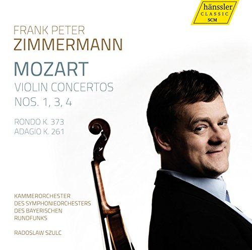 Frank Peter Zimmermann-Mozart Violin Concertos Nos. 1 3 4-CD-2015-VOiCE Download