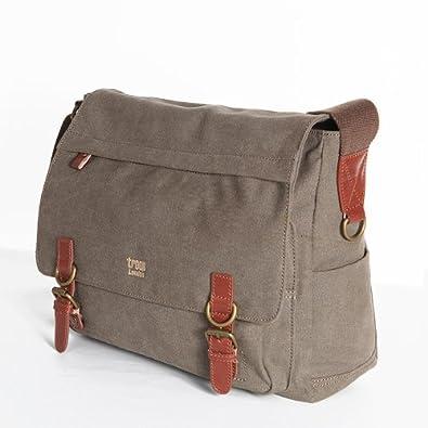 Troop London Canvas Messenger Shoulder Bag 64