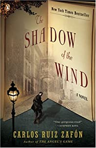"Cover of ""The Shadow of the Wind"""