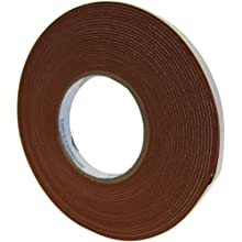 "Saint Gobain 100S Strip-N-Stick Silicone Gasket Tape, 1/4"" Thick x 2"" Wide x 15 Feet Long with High Temperature Pressure-Sensitive-Adhesive Backing (1 Roll)"
