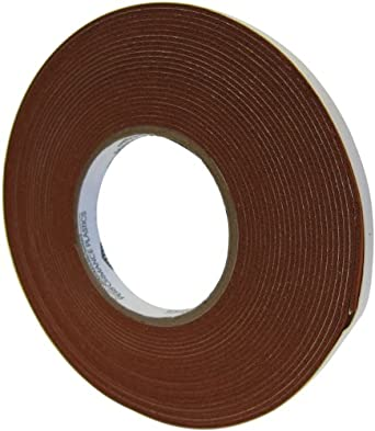 "Saint-Gobain 100S Strip-N-Stick Silicone Gasket Tape, 30' Length, 1"" Width, 3/32"" Thick (Pack of 1)"