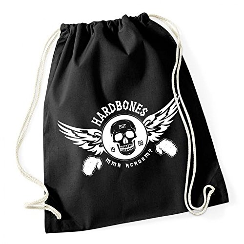 Hardbones Gym Borsa De Gym Nero Certified Freak