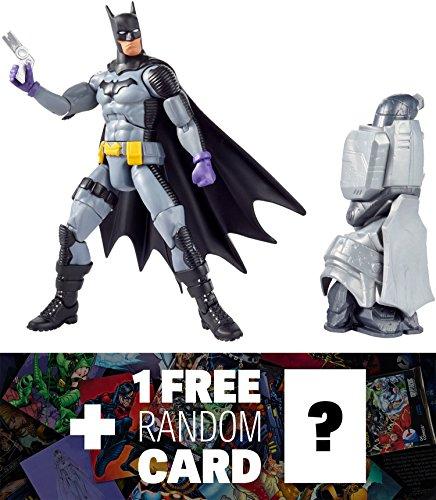 "Batman (Zero Year): ~6"" DC Comics Multiverse Action Figure + 1 FREE Official DC Trading Card Bundle"