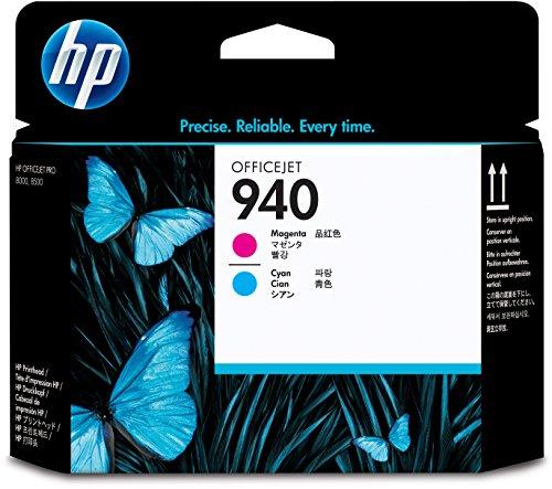 HP C4901A Testina di Stampa 940, Magenta/Ciano