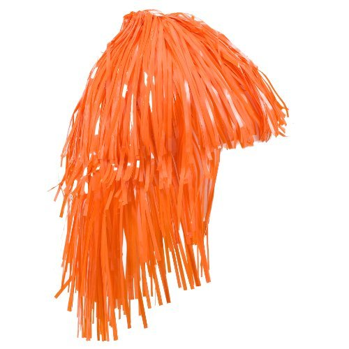 Foil Wig Orange