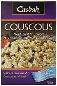 Casbah Wild Forest Mushroom CousCous, 7 Ounce Boxes (Pack of 12)
