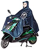Hohe Wasserdichte Regenjacke Qality Motorrad Damen Herren Regenjacke Scooter Cape