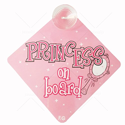 BABY ON BOARD PRINCESS