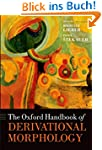 The Oxford Handbook of Derivational M...