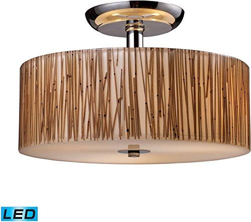 Modern Organics Semi Flush Led Bulb