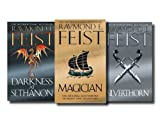 Raymond E. Feist Raymond E. Feist Riftwar Saga 3 Books Collection Set RRP: 26.97 (Magician, A Darkness at Sethanon, Silverthorn) NEW